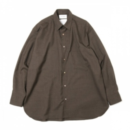 REGULAR COLLAR SHIRTS COMFORT FIT SUPER120s WOOL