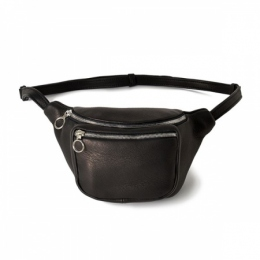 DA11 / DEER LEATHER WAIST POUCH S