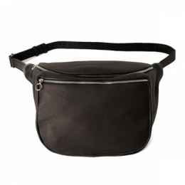 DA12 / DEER LEATHER WAIST POUCH M