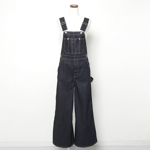 selvage denim overall