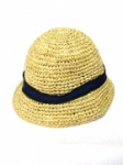 Stripe ribbon hat