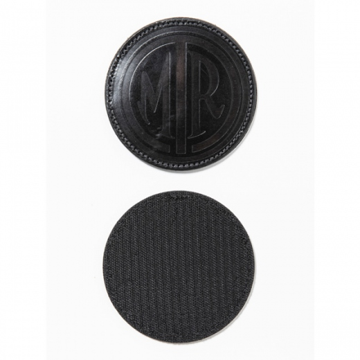 Icon leather patch (mark)