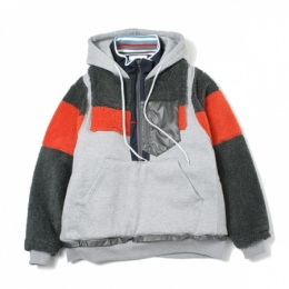 MIX PULLOVER JACKET