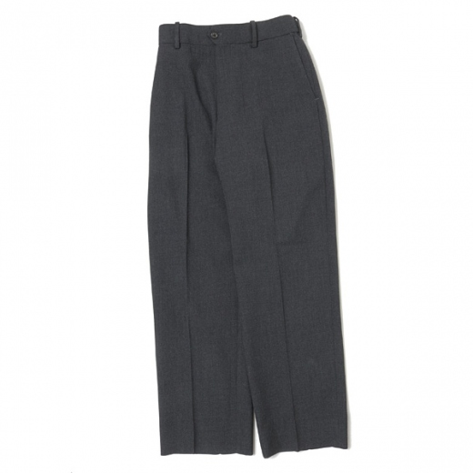 FLAT FRONT TROUSERS ORGANIC WOOL SURVIVAL CLOTH