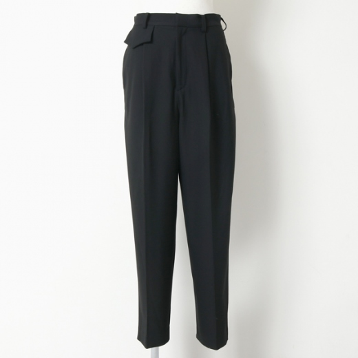 GEORGETTE TAPERED TROUSERS