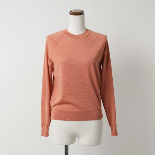slit knitting pullover