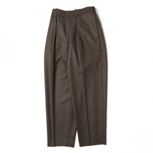 CLASSIC FIT TROUSERS ORGANIC WOOL JAPAN FLANNEL