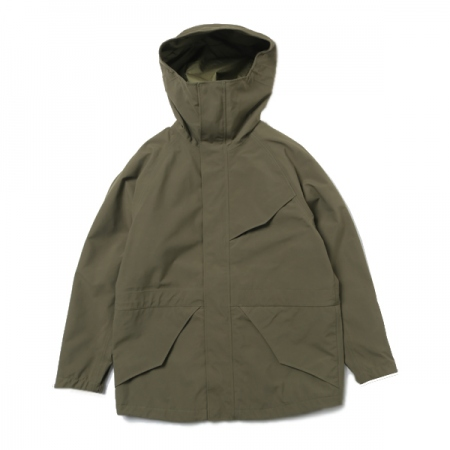 HIKER HOODED JACKET NYLON WEATHER WITH GORE-TEX 3L