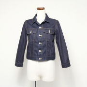 selvage denim kids bluson