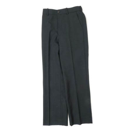 STRAIGHT FIT TROUSERS ORGANIC WOOL TROPICAL