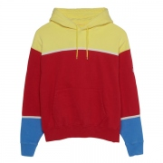 3 COLOUR PANEL HEAVY HOODY