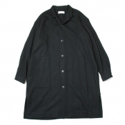 SHIRTS COAT COTTON WOOL TWILL