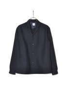 NOTCHED COLLAR L/S SHIRT