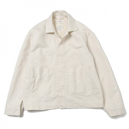WORK JACKET HEMP ORGANIC COTTON DRILL