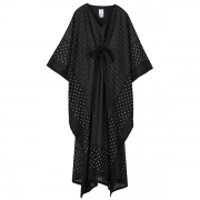 KAFTAN DRESS(DOTS BANDANAPT)