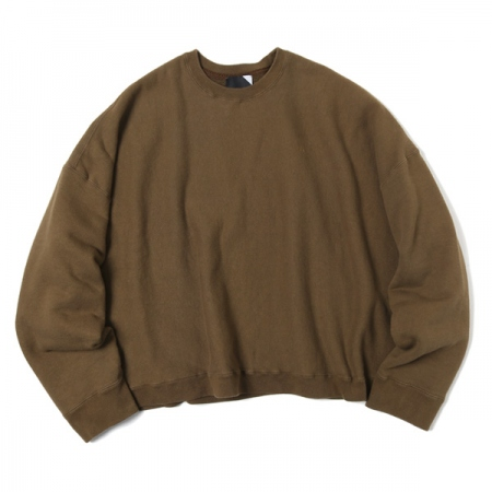SUVIN NATURAL DYE CREWNECK PULLOVER