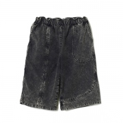 GARMENT DYED WIDE SHORTS