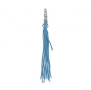 Cow Suede Leather Tassel Key Ring