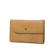 Horse Leather Trifold Wallet M