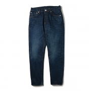 TAPERED DENIM PANTS / BIO WASH