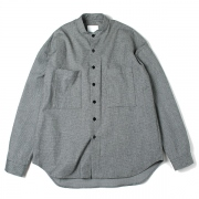 WIDE SHIRT(STAND COLLAR)