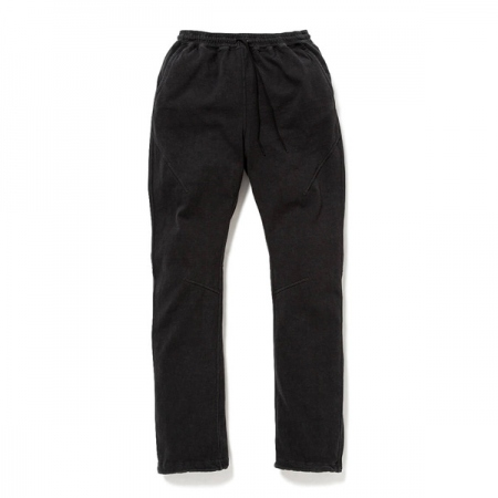 CYCLIST EASY PANTS COTTON SLAB JERSEY OVERDYED