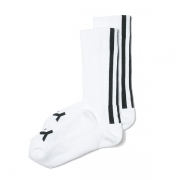 Y-3 STRIPE SOCKS (WHITE)