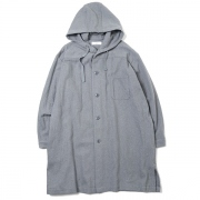 BUTCHER SHIRTS COAT COTTON WOOL TWILL