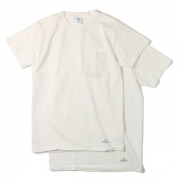 VELVA SHEEN 2PACK T-SHIRTS / WHITE ・ BLACK