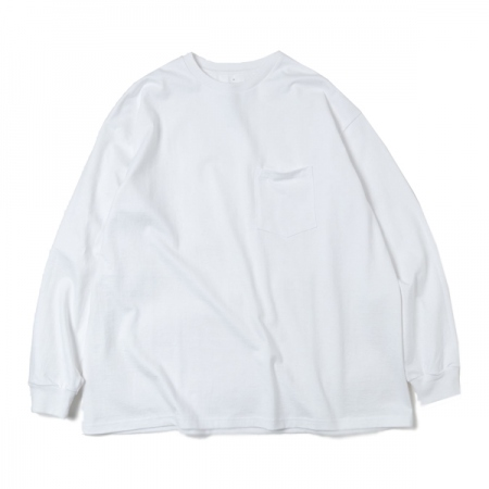 L/S Oversized Pocket Tee