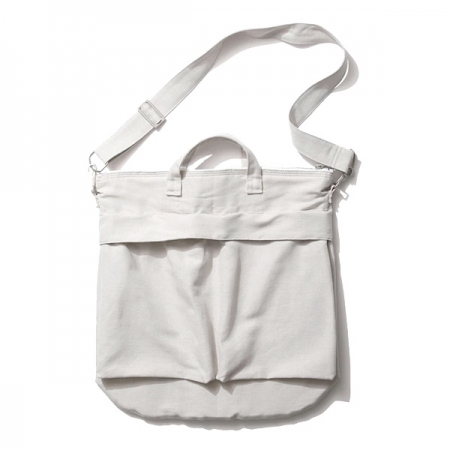 LINEN COTTON OXFORD | HELMET BAG