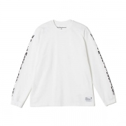WM LOGO PRINTED LONG SLEEVES T-SHIRT