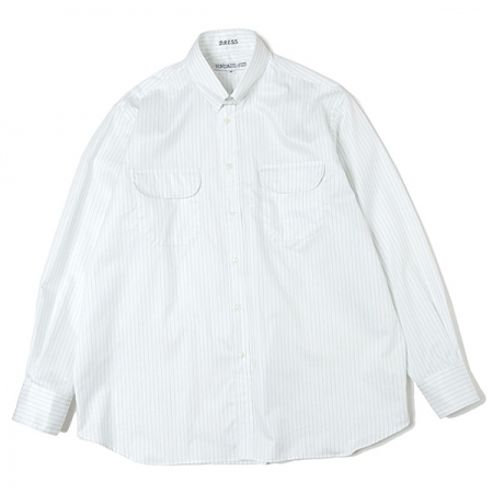 Officer Tab Collar Shirt