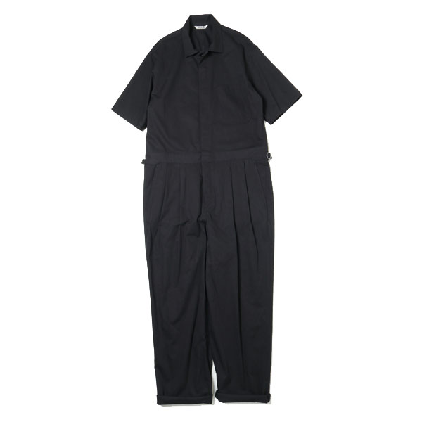 WASHED CAVALRY TWILL JUMPSUIT