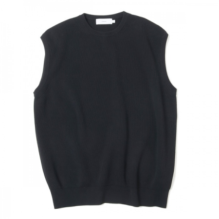 High Density Cotton Knit Vest