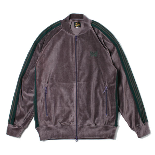 Rib Collar Track Jacket - C/Pe Velour