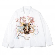 CHAOS EMBROIDERY SKIPPER SHIRT