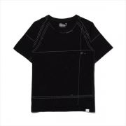 PATTERN PRINTED RAGLAN T-SHIRT