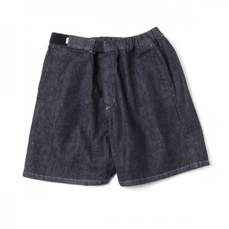 Colorfast Denim Wide Chef Shorts