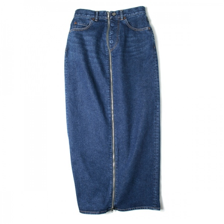 ZIP DENIM SKIRT(TYPE-A)