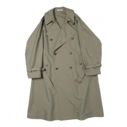 FINX POLYESTER BIG TRENCH COAT