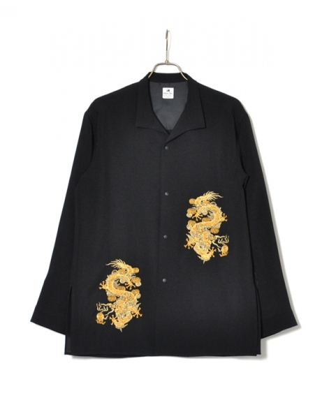 ORIENTAL MIDDLE LENGTH SHIRT JKT