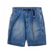 Indigo Chambray Field Shorts