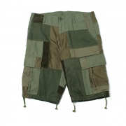 Patched Cargo Shorts