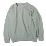 Crewneck Knit moss stitch