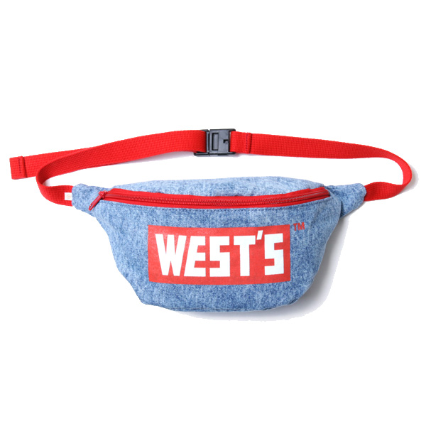 WESTS POUCH / C.BLUE