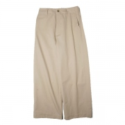 WASHED FINX LIGHT CHINO WIDE PANTS