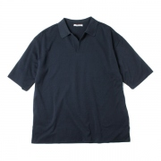 HIGH GAUGE PIQUE DOUBLE CLOTH SKIPPER POLO