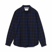 CHECK FLY FRONT OX SHIRT