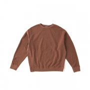 SILK NEP CREW NECK SWEAT